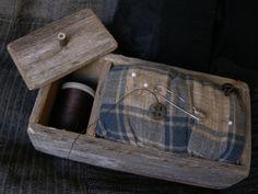 Pin cushion box * sweetlibertyhomestead.