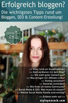 Du willst wissen, worauf es beim Bloggen wirklich ankommt? Die wichtigsten Tipps rund um deinen Blog, deine Social-Media-Kanäle, Content, Follower, Community, Kooperationen und Affiliate-Marketing. Wie versichere ich mich als Soloselbstständiger und Freiberufler? Was verdient ein Blogger, Influencer und Content Creator? Blog mit Wordpress? Wie schreibe ich Advertorials? Erfahre hier mehr >>> Affiliate Marketing, Online Marketing, Seo Online, Influencer, Lifestyle Blog, Wordpress, Archive, Blogging, German