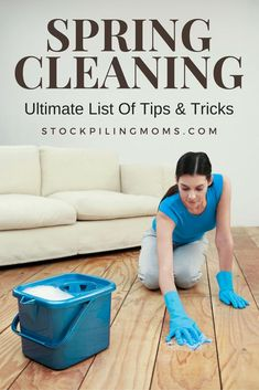 Don't miss our Ultimate List Of Spring Cleaning Tips
