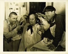 The Three Stooges - probably why my brother hit me so much!