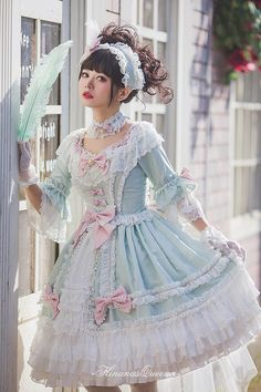 LolitaWardrobe.com — New Release: Hinana 【-Moira-】 Series ◆ Shopping...