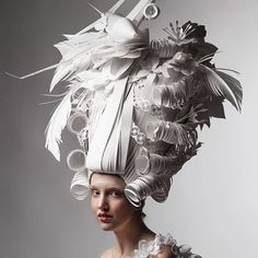 My Hump Day look ???? Unbelievable paper sculptures by @asya_kozina | The Fox Is Black