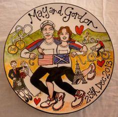 A Funky Scottish Life: A Celebration Of Life & Loves! Bespoke, Handpainted Ceramics...