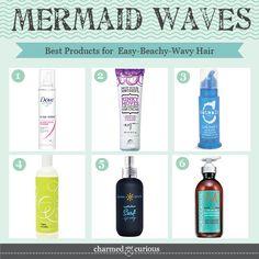 Best Products for Beachy-Wavy Hair - Mermaid Hair