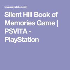 Silent Hill Book of Memories Game | PSVITA - PlayStation