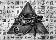 Osiris Tattoo, Ankh Tattoo, Horus Tattoo, Anubis Tattoo, Eye Of Ra Tattoo, Sanskrit Tattoo, Egyptian Symbols, Ancient Symbols, Egyptian Art