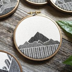 Shallow mountains. I hope you're all having a great Sunday! ✨ | Totally want to hack this