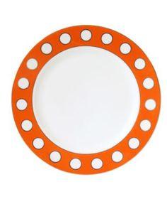 orange dot dessert plates. oh, heck, yes. {jonathan adler; $12}