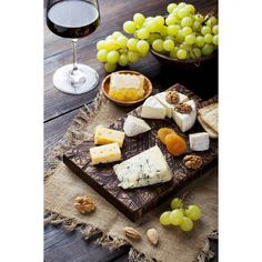 Glass of good wine and cheese plate can make any day special!))