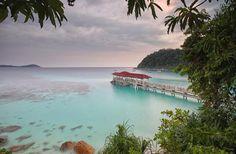 Auf den malaysischen Perhentian-Inseln gleicht jeder Strand einem wunderschönen Naturschauspiel