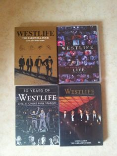 My Westlife DVD and now I can see The Farewell Tour Jippi :-)