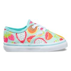 838974347230d6 The Glitter Fruits Authentic combines the original and now iconic Vans low  top style with sturdy