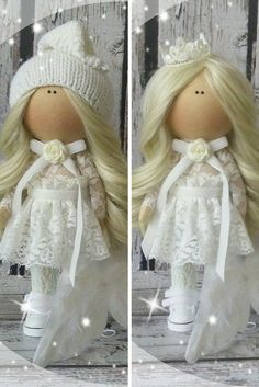 Angel doll doll Tilda doll Art doll handmade by AnnKirillartPlace