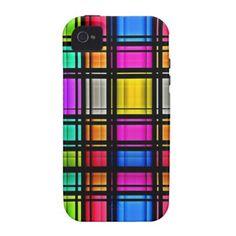 Beautiful  Colored Retro Pattern iPhone 4/4S Case