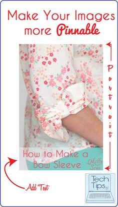 Tech Tips: Optimize Your Images for Pinterest - Melly Sews