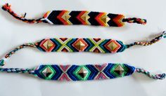 jumbo studded friendship bracelets! so cute for summer!