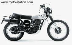 Yamaha XT 500 de 1978