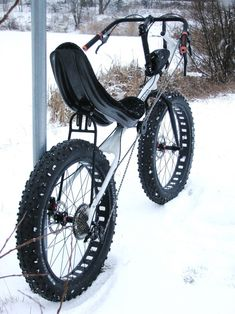 VeloMotion Sequoia - brand new recumbent FAT BIKE frame set Recumbent Bicycle, Tandem Bicycle, Recumbent Bike Workout, Bicycle Pedals, Cool Bicycles, Cool Bikes, Mountain Bike Forks, Tricycle Bike, Exercise Bike Reviews