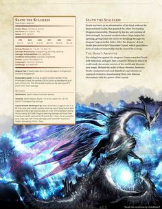 DnD Homebrew — Darksouls monsters part 2 by Braggadouchio Dnd Dragons, Dungeons And Dragons 5e, Dungeons And Dragons Homebrew, Dark Souls, Skyrim, Dnd Races, Dnd Classes, Dnd 5e Homebrew, Dragon Rpg