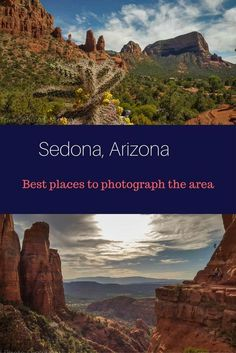 Best places to photograph Sedona, Arizona - these are my favorite easy access places around Sedona with fantastic panoramas, trails and scenic views worth visiting. Check out the highlights here http://travelphotodiscovery.com/best-places-to-photograph-sedona/