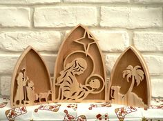 Diy Nativity, Nativity Scenes, German Christmas, Christmas Holidays, Diy And Crafts, Arts And Crafts, Cnc Projects, Design Your Home, Scroll Saw