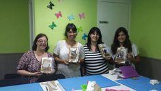 Taller vintage 6 de Junio!! Gracias por venir chicas!!! :) #scrapshu #scrapbook #scrapbooking #scrap
