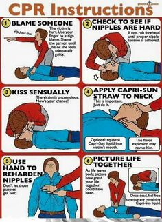 Funny CPR instructions