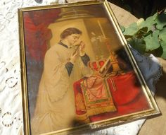 Victorian Religious Priest French by SophieLadyDeParis on Etsy