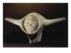 Janus Head, from Cape Dorset  by Inuit School