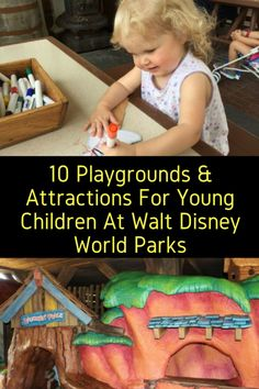 Traveling with children of different ages can prove challenging. Not with the list below, consider these 10 playgrounds and attractions to keep little ones entertained on your trip as well. Animal Kingdom 1. The Boneyard Dinoland in Disney's Animal Kingdom is a giant open space playground where children can dig and explore. The Boneyard is …