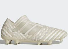 #football #soccer #futbol Adidas Nemeziz 17+ 360 Agility FG Earth Storm - Sesame / Clay