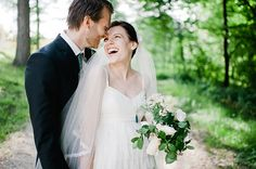 Gorgeous bride and groom!  Photography by: @Nadia Meli