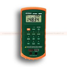 http://handinstrument.se/special-matare-r965/lcr-matare-53-380193-r1002 LCR meter Simultaneous 20,000 / 10,000 display of the primary parameter (L, C or R) Secondary parameter: Q (quality), D (dissipation) or R (resistance) set the High / Low limit using absolute values or as a percentage Displays the corresponding parallel or series circuit Automatic fuse indication Built-in test fixture or use external test leads Warranty: 2 years