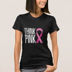Breast Cancer Awareness Pink Ribbon Tees Shirts - pink gifts style ideas cyo unique
