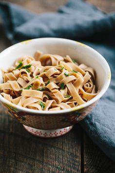 A simple recipe for homemade spelt pasta