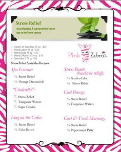 Pink Zebra Recipe book! Take a look at all of our scents at www.pinkzebrahome.com/elizabethhaney