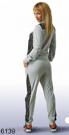 Спортивный костюм женский трикотаж, фото 2
