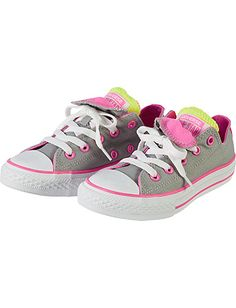 Converse Double-Tongue Sneakers | Girls Shoes