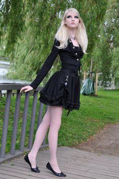 Gothic Doll Stock by *MariaAmanda on deviantART