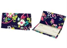 Vera Bradley Checkbook Cover in Ribbons ** Check out this great image @