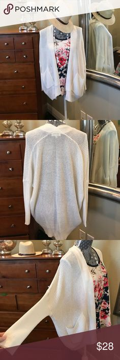 Theory shrug sweater Sand colored theory light sweater perfect for ...