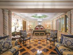 Third Bedroom: Versace Mansion in Miami Beach