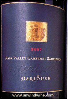 Darioush Cabernet Sauvignon  Napa Valley 2007