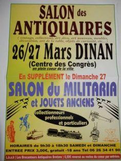 affiche Salon des Antiquaires Militaria et Jouets anciens