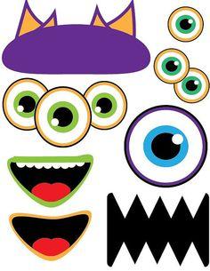 INSTANT DOWNLOADLittle Monsters Photobooth by jocebrackendesigns