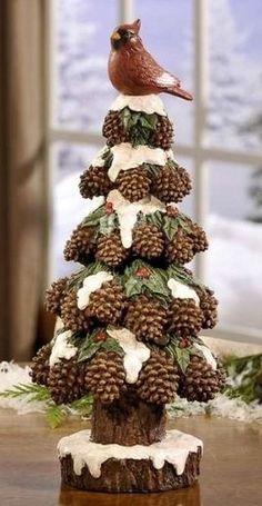 adorno con madera navidad | Muy sencillo