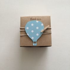 25 Hot air balloon favor boxes birthday party by TheLondonLoft