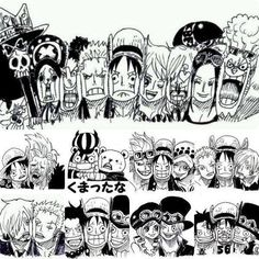 Cuteeee :3 ONE PIECE FAMILY