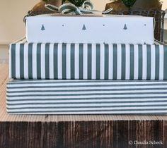 Geschenktüten - Geschenkpapier XMAS - ein Designerstück von AugustundGertrude bei DaWanda