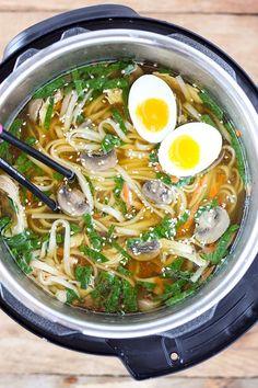 Instant Pot Pressure Cooker Ramen Soup  - Delish.com